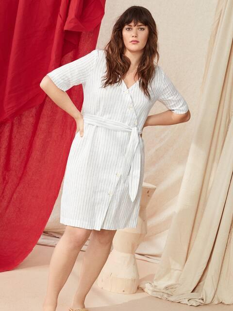 Plus Size Fashion For Women Violeta By Mango Canada